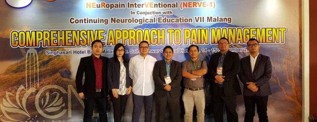 Prestasi Neurologi Udayana di NERVE-1 dan CNE VII Malang 1