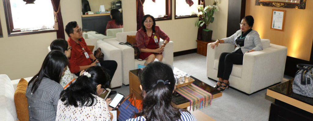 Audiensi Tim Akreditasi dengan Ibu Rektor Universitas Udayana 1