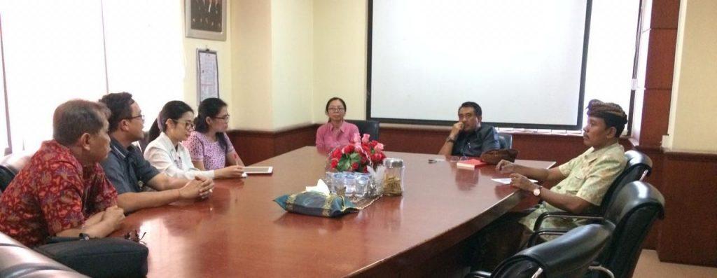Rapat Koordinasi Re-akreditasi Program Studi dengan Dekanat
