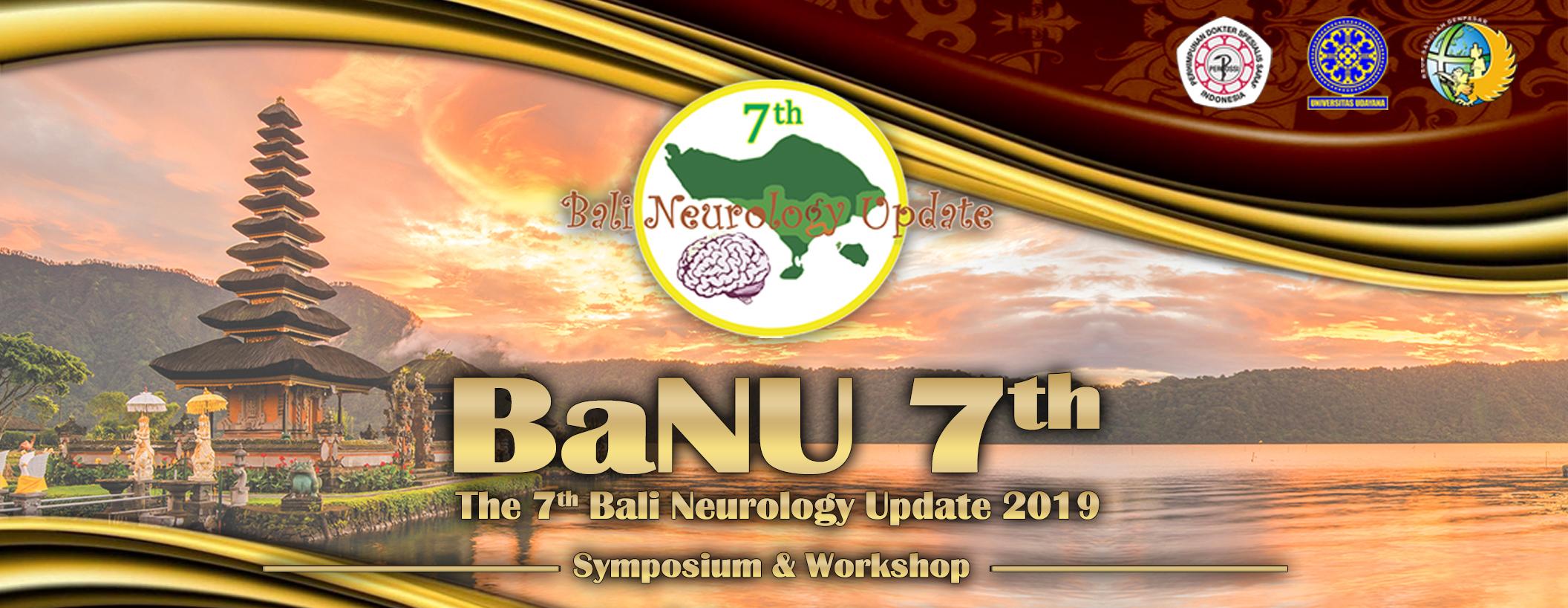 Penyelenggaraan Bali Neurology Update (BaNU) 7th