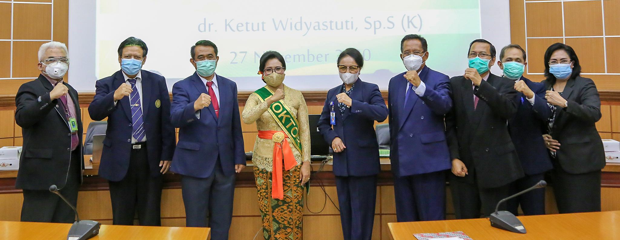 Ujian Terbuka Program Doktor dr. Ketut Widyastuti, Sp.S(K)