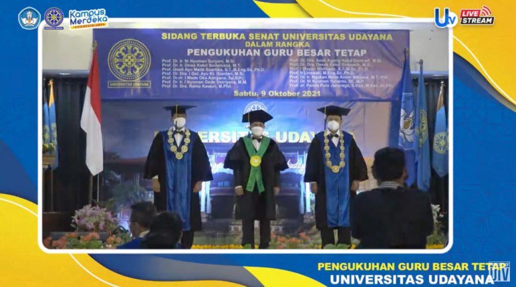 Pengukuhan Guru Besar Prof. Oka Adnyana 1