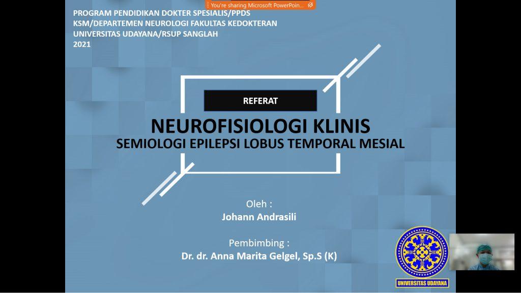 Referat Neurofisiologi Klinis - Semiologi Epilepsi Lobus Temporal Mesial